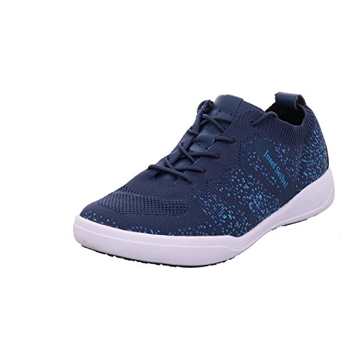 Josef Seibel Damen Sina 43 Sneaker Blau (Blau-Kombi)
