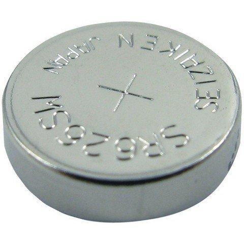 1 - 1.55-Volt Silver Oxide Watch Battery (SR626SW; 29mAh), Fits Franklin Mint(R) FR626SW, Panasonic(R) AG4, LR626, SR626SW, WC377 -  LENMAR