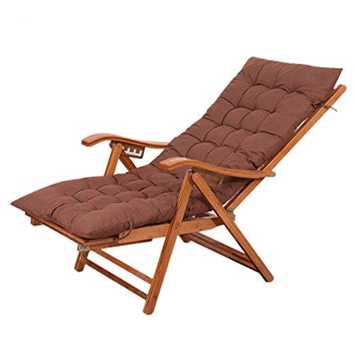 Amazon.com: L & J bambú Chaise Lounges, verano plegable ...