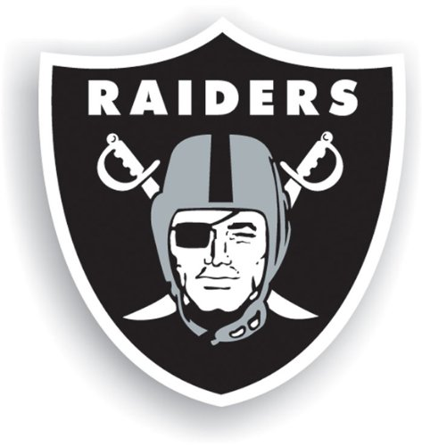 an NFL Team Oakland Raiders Shield (Fremont Die Oakland Raiders Magnet)