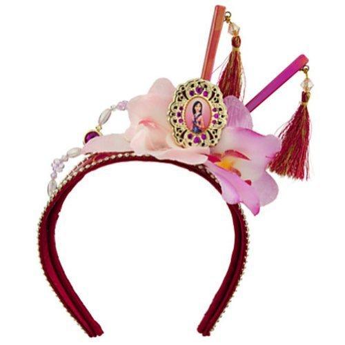 Disney Store Princess Mulan Crown Tiara Headband Hair Piece (Baby Mulan)