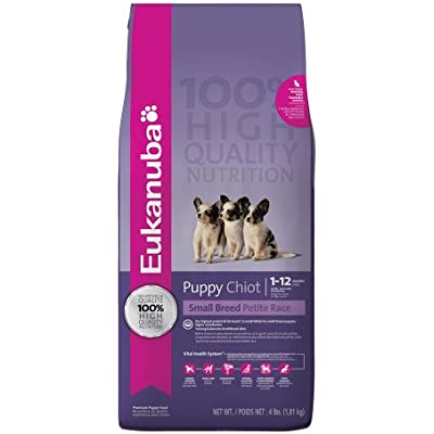 Eukanuba Small Breed Puppy Food 4 lb.