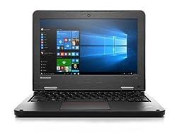 Lenovo 2018 ThinkPad 11e 11.6-Inch Laptop(Intel Celeron N2920 1.8GHz, 4G DDR RAM, 128SSD, Windows 7 Pro 64-Bit) - (Certified Refurbished)