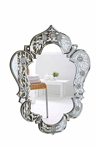 - Elegant Lighting Venetian MR-2011C Clear Mirror, 20.7
