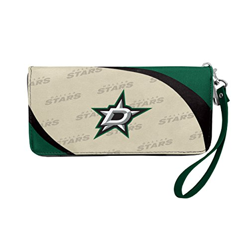 NHL Dallas Stars Curve Zip Organizer Wallet