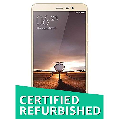 (Renewed) Xiaomi Redmi Note 3 (Gold, 32GB)
