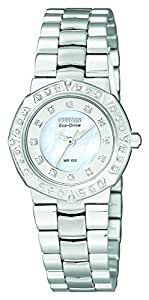 Citizen Women's EP5830-56D Eco-Drive Serano Sport Diamond Accented Watch