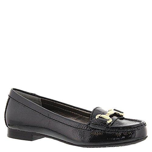 Ros Hommerson Kvinna Regina Loafers, Svart Läder, 5 M