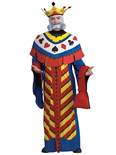 Rubie's Costume Co Playing Card King Costume, Large, Large