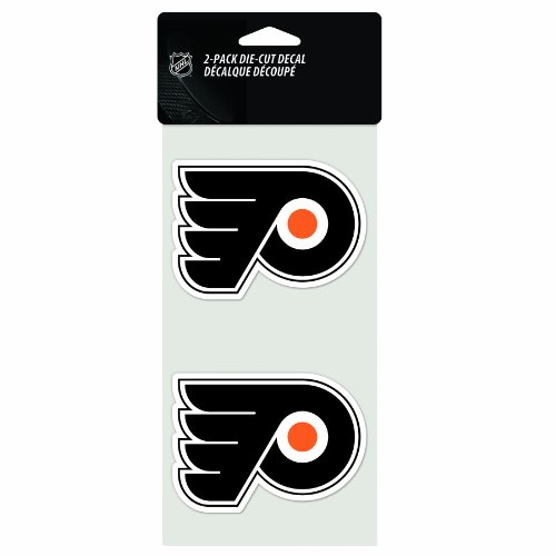 NHL Philadelphia Flyers 2-Piece Die-Cut Decal, 4