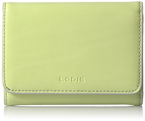 Lodis Audrey Mallory French Purse Wallet, Lime/Dove, One ...