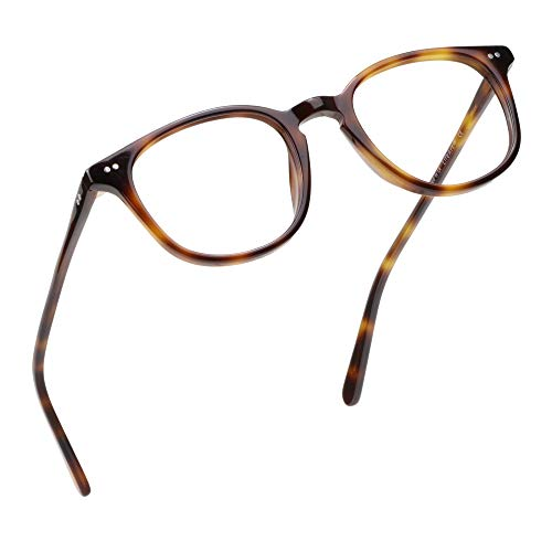 LifeArt Blue Light Blocking Glasses, Anti Eyestrain, Computer Reading Glasses, Gaming Glasses, TV Glasses for Women Men, Anti UV, Anti Glare (Tortoise, 2.25 Magnification)