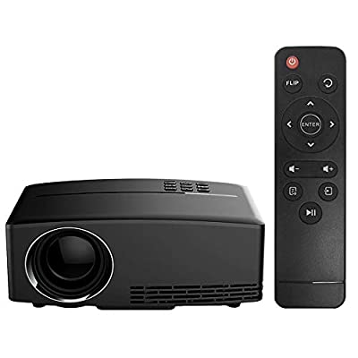 Chranto Home Cinema Theater Multimedia LED LCD Projector HD 1080P PC AV TV VGA USB HDMI