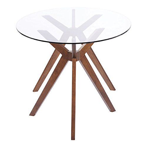 Zuo Modern Buena Vista Dining Table Walnut Renovation Store