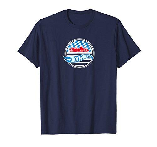 Adult Hot Wheels - Hot Wheels Stars And Checks T-Shirt
