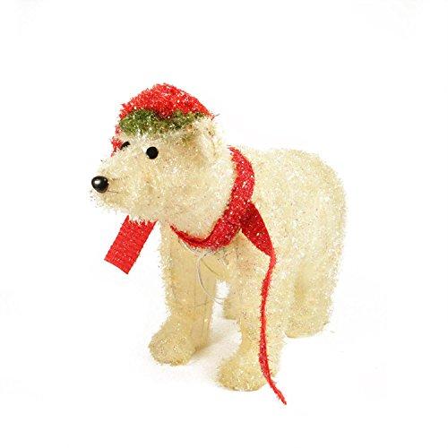Outdoor Lighted Polar Bear Decorations 2
