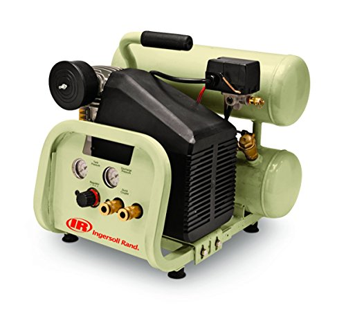Used, Twin-Stack P1IU-A9 2 HP 4 Gallon Portable Air Compressor for sale  Delivered anywhere in USA