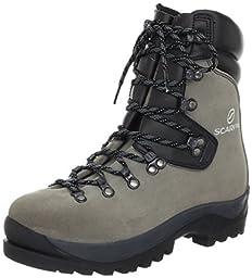 Scarpa Fuego Mountaineering Boots Bronze 45.5 & Etip Lite Gripper Glove Bundle