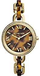 Michael Kors Women's Quartz Stainless Steel Casual Watch, Color:Gold-Toned (Model: MK4281)
