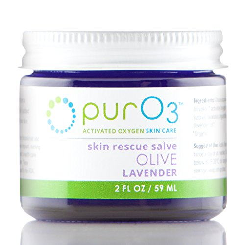 Olive Lavender Oil - PurO3 Fully Ozonated Olive Oil with Lavender - 2 oz