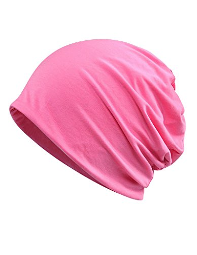 Luccy K Womens Cotton Summer Chemo Hat Beanie Scarf - Breatfable Beanie Cap Bandana for Cancer