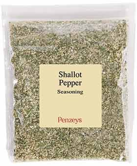 Shallot Pepper Seasoning By Penzeys Spices 4.8 oz 1.5 cup bag