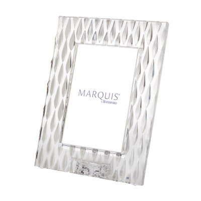 Marquis by Waterford Rainfall 5 by 7 Frame, Portrait (X Boy 7 5 Frame Photo)