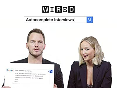 Jennifer Lawrence & Chris Pratt Answer the Web's Most Searched Questions
