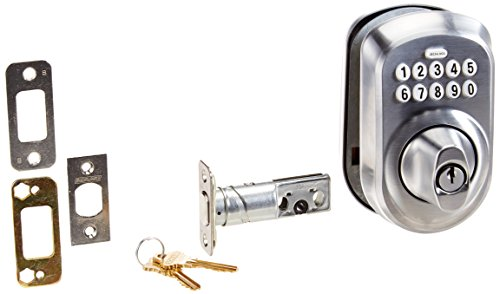 Schlage Be365Vply626 Plymouth Keypad Catenaccio, Satin-9721