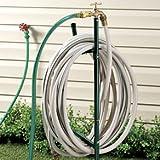 Hose Stand W/ Spigot Brass Faucet Extender 6 Foot Hose Included