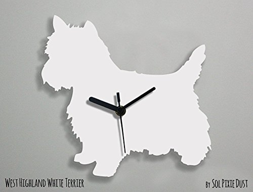 - West Highland White Terrier Dog - Wall Clock