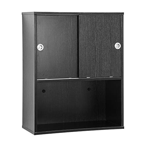 BarberPub Wall Mounted Styling Barber Station Storage Cabinet Salon Beauty Spa Equipment 7136 (Style2)