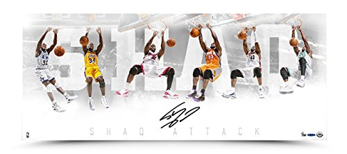 SHAQUILLE O'NEAL Signed Shaq Attack Photo LE of 50 UDA.