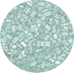 Ck Products 4 Ounce Sugar Crystals Pearlized Bottle, Green