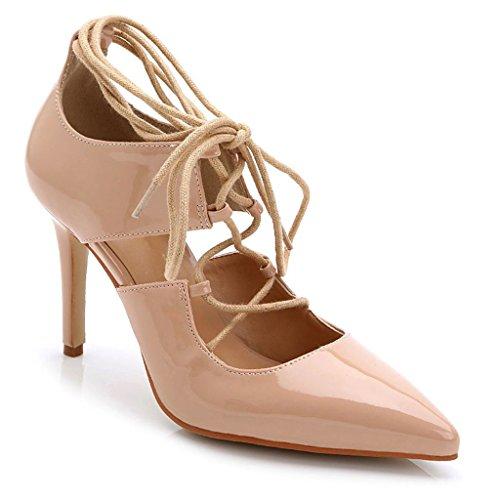 High Platform US Red Heel Fashion Evening Pumps Shoes Bridal B wedding Doris 72 Women's M TS889 6 Y7q8FB