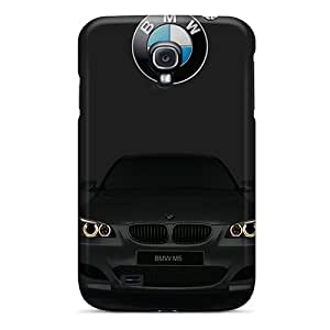 Shock Absorption Hard Phone Case For Samsung Galaxy S4 With Custom Colorful Bmw Image LeoSwiech
