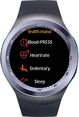 Frizzer Y1 Touch Screen Bluetooth Smart Watch with SIM Card Slot Watch  Phone with Apps Like Facebook, Whatsapp, Wechat, Pedometer Compatible with  All