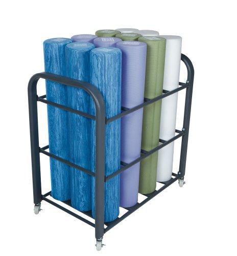 Studio Foam Roller Cart by Power Systems