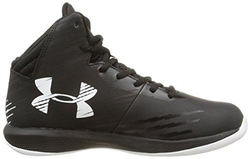Under Armour Kids Jet Basketbal Schoenen Zwart