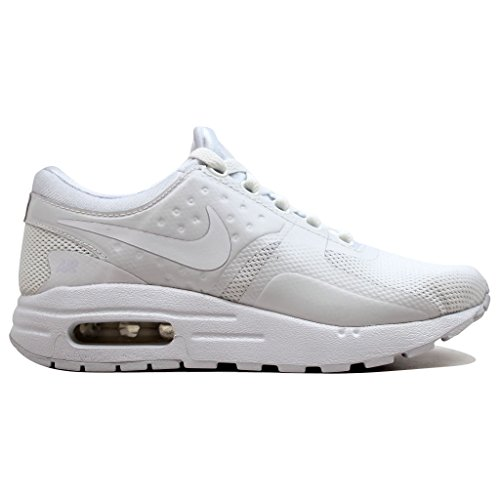Nike Air Max Zero Essential GS, Zapatillas de Trail Running Para Niños, Blanco (White/White/Wolf Grey/Pure Platinum 100), 36 EU