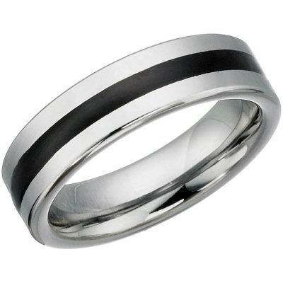 6mm Tungsten Carbide Comfort Fit Ring