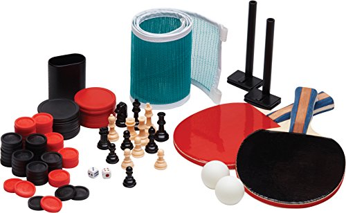 Viper Portable Tri-Fold Table Tennis and Game Table Top with Accessory Set