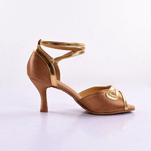 Kevin Fashion ,  Damen Tanzschuhe , Braun - Bronze - Größe: 35.5