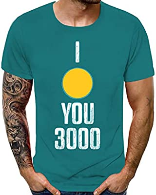 FakMe Mens Summer Slim Fitted Casual Short-Sleeve Button T-Shirts Contrast Color Stitching Tee