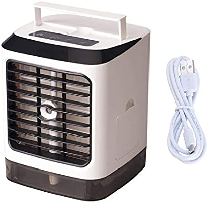 JENOR Mini enfriador de aire eléctrico para habitación portátil de ...