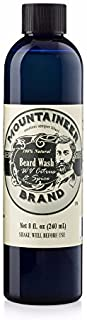 product image for Beard Wash by Mountaineer Brand (8oz) | WV Citrus & Spice Scent | Premium 100% Natural Beard Shampoo