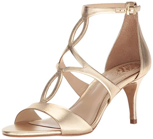 Gold Egyptian Sandals (Vince Camuto Women's Payto Heeled Sandal, Egyptian Gold, 8.5 Medium)