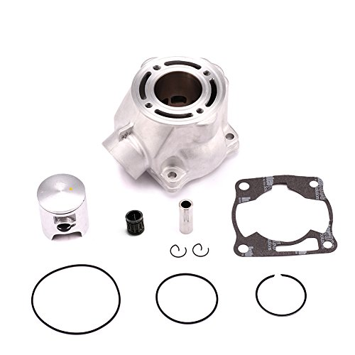 (Yamaha YZ80 YZ85 Cylinder Piston Gasket Kit Bore 47.5mm ATV Direct Replacement)