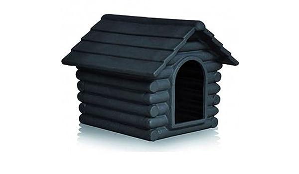 Telcom Caseta para perros Rifugio pequeño color grafito: Amazon.es: Productos para mascotas