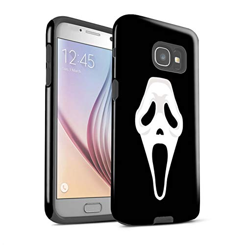 STUFF4 Gloss Tough Shock Proof Phone Case Samsung Galaxy A5 (2017) / Scream Mask Inspired Art Design/Horror Movie Art Collection